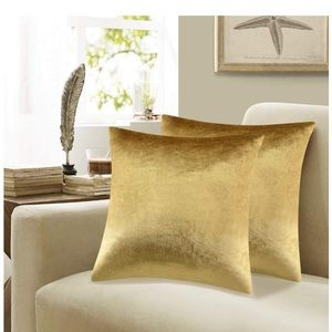 """Velvet Decorative Throw Pillow Covers 20x20"""""""
